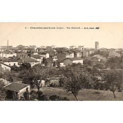 ABAO 42 - Loire [42] Chazelles-sur-Lyon - Vue Générale.