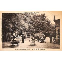 ABAO 38 - Isère [38] Saint-Marcellin - Le Parc du Nouvel-Hôtel. J. Thomé, propriétaire.