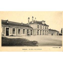 ABAO 46 - Lot [46] Cahors - La Gare, cour extérieure.