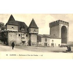 ABAO 46 - Lot [46] Cahors - Barbacane et Tour des Pendus.