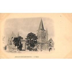 17 - Charente-Maritime [17] Aulnay-de-Saintonge - L'Eglise.