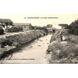 17 - Charente-Maritime [17] Châtelaillon - Le canal des Boucholeurs.