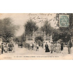 17 - Charente-Maritime [17] Fouras-les-Bains - Entrée principale du Parc du Casino.