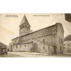 ABAO 69 - Rhône [69] Beaujeu - L'Eglise, monument historique.