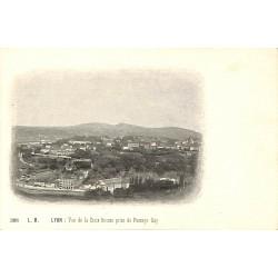 69 - Rhône [69] Lyon - Vue de la Croix-Rousse prise du Passage Gay.