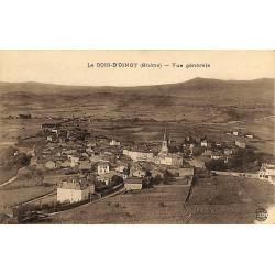 69 - Rhône [69] Le Bois-d'Oingt - Vue générale.