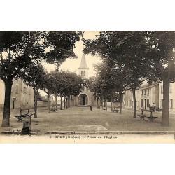 ABAO 69 - Rhône [69] Bron - Place de l'Eglise.