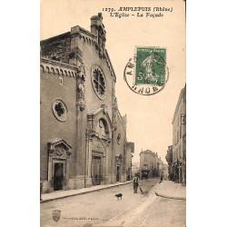 ABAO 69 - Rhône [69] Amplepuis - L'Eglise. La Façade.