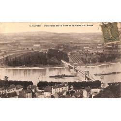ABAO 69 - Rhône [69] Givors - Panorama sur le Pont et la Plaine de Chasse.
