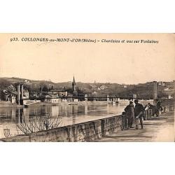 ABAO 69 - Rhône [69] Collonges-au-Mont-d'Or - Charézieu et vue sur Fontaines.