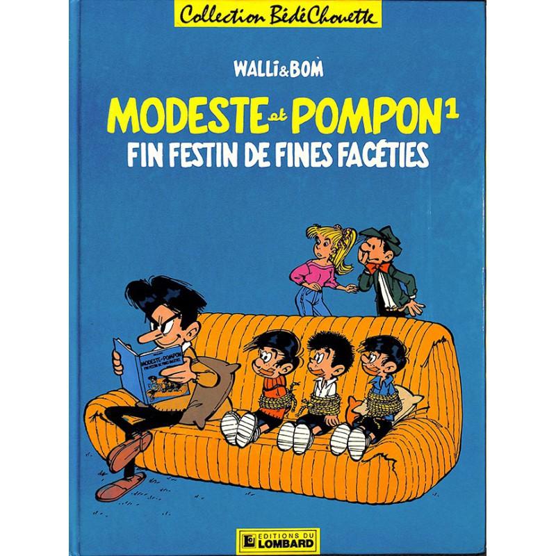 ABAO Bandes dessinées Modeste et Pompon (BédéChouette) 01