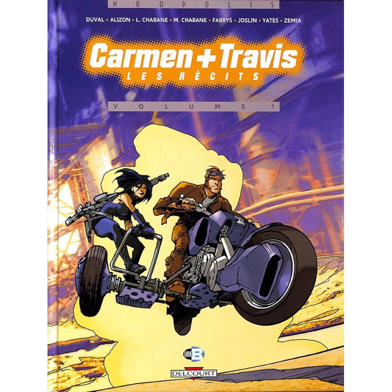 ABAO Bandes dessinées Carmen + Travis, Les Récits 01