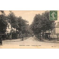 ABAO 45 - Loiret [45] Courtenay - Avenue de la Gare.