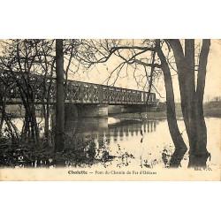 ABAO 45 - Loiret [45] Chalette - Pont du Chemin de Fer d'Orléans.