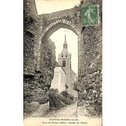 ABAO 45 - Loiret [45] Château-Renard - Porte du Château féodal. Montée de l'Eglise.