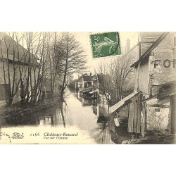 ABAO 45 - Loiret [45] Château-Renard - Vue sur l'Oanne.