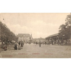 ABAO 45 - Loiret [45] Courtenay - Ecole des Garçons. Halle aux Veaux.
