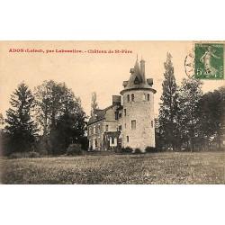 ABAO 45 - Loiret [45] Adon - Par Labussière. Château de St-Père.