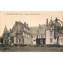 ABAO 45 - Loiret [45] Beaulieu-sur-Loire - Château de Courcelles-le-Roi.