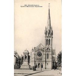 ABAO 45 - Loiret [45] Briare - Eglise et Monument Bapterosse.