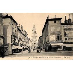 ABAO 01 - Ain [01] Bourg - Perspective de la Rue Notre-Dame.