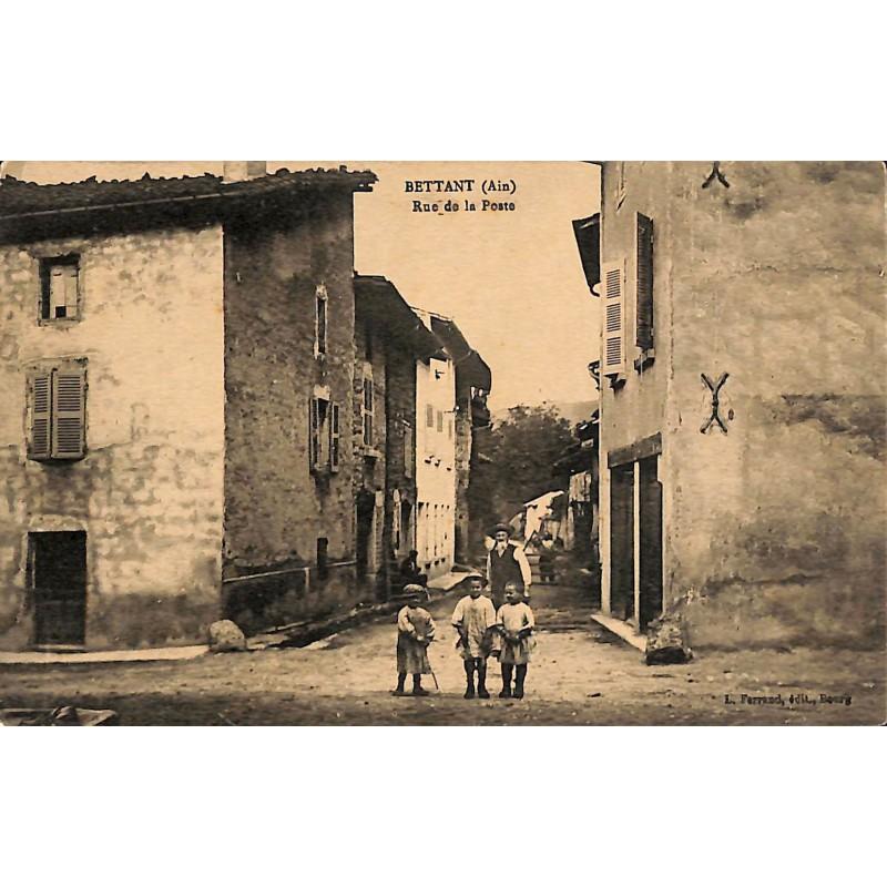 ABAO 01 - Ain [01] Bettant - Rue de la Poste.