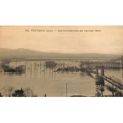 ABAO 01 - Ain [01] Trévoux - les Inondations de 1910.