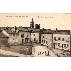 ABAO 01 - Ain [01] Ambérieux-en-Dombes - Quartier de la Gaieté.