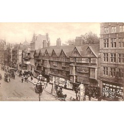 Royaume-Uni London - Old houses, staple inn holborn.