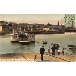 Royaume-Uni Cowes - The Floating Bridge.