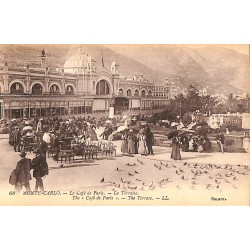 ABAO Monaco Monte-Carlo - Le Café de Paris. La Terrasse.