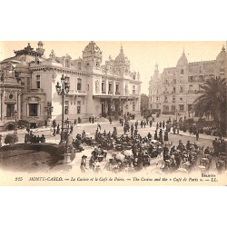 ABAO Monaco Monte-Carlo - Le Casino et le Café de Paris.