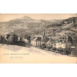 ABAO 74 - Haute Savoie [74] Saint-Gervais - et le Mont Joli.