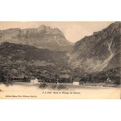 74 - Haute Savoie [74] Servoz - Gare et Village.
