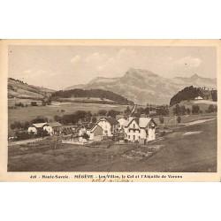 ABAO 74 - Haute Savoie [74] Mégève - Les Villas, le Col et l'Aiguille de Varens.