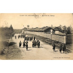 ABAO 38 - Isère [38] Chambaran - Entrée du Camp.