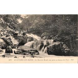 ABAO 38 - Isère [38] Allevard-les-Bains - Le Bout du monde, vue prise au-dessus du Pont.