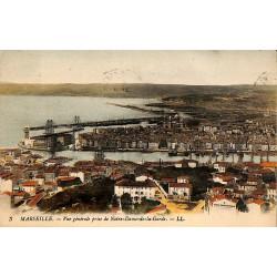 ABAO 13 - Bouches-du-Rhône [13] Marseille - Vue générale prise de Notre-Dame-de-la-Garde.