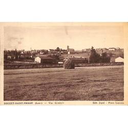 ABAO 42 - Loire [42] Boisset-Saint-Priest - Vue Générale.