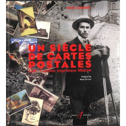 ABAO 1900- [Cartes postales] Combier (Marc) - Un siècle de cartes postales.