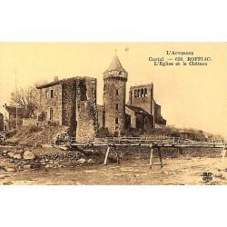ABAO 15 - Cantal [15] Roffiac - L'Eglise et le Château.