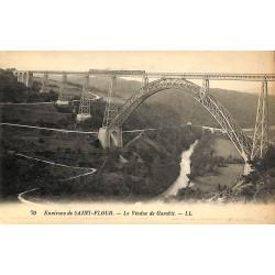 ABAO 15 - Cantal [15] Saint-Flour (Environs de) - Le Viaduc de Garabit.