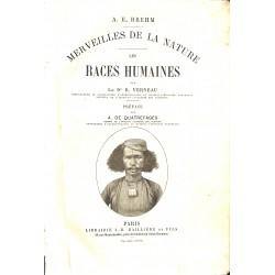 1800-1899 Verneau (René) - Les Races humaines.