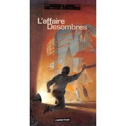 ABAO Bandes dessinées Les Cités obscures - L'Affaire Desombres.