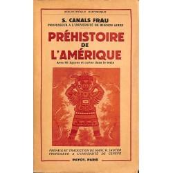 ABAO 1900- Canals Frau (Salvador) - Préhistoire de l'Amérique.
