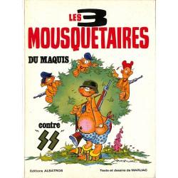 Bandes dessinées Les 3 mousquetaires du maquis (Albatros) 02