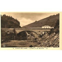 63 - Puy-de-Dôme [63] Viaduc des Fades - Le Pont et les Rochers.