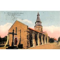 03 - Allier [03] Néris-les-Bains - L'Eglise Gallo Romane.