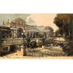 ABAO 03 - Allier [03] Vichy - Le Casino. Un Coin de la Terrasse.
