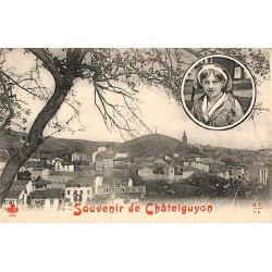 63 - Puy-de-Dôme [63] Châtelguyon - Souvenir de Châtelguyon.
